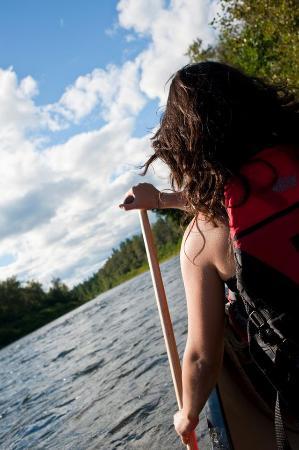 Kedgwick River, Kanada: Arpin Canoe Restigouche
