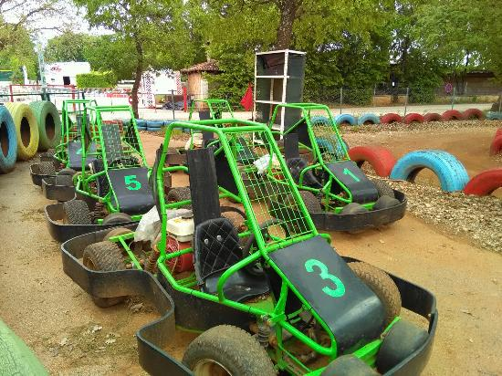 Tar, Croacia: Kart cross - kids, two seater, one seater.      ATV -  Yamaha 90 ccm , 125ccm, 300 ccm  fun for