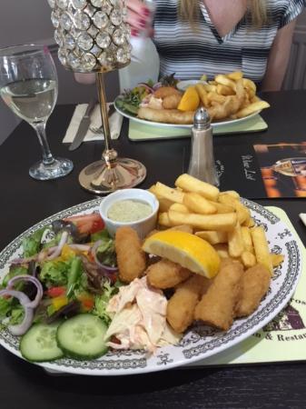 Blairgowrie, UK: Sea food