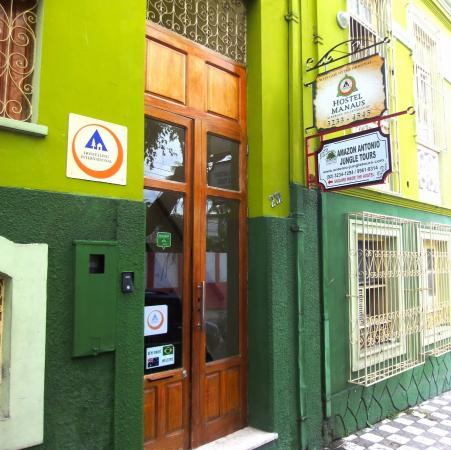 Entrada do Hostel Manaus
