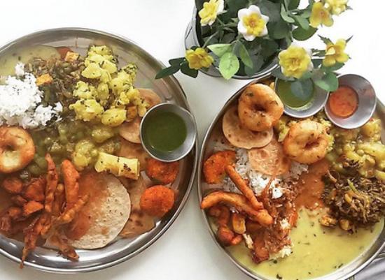 The Ganga Cafe: Having a food coma.