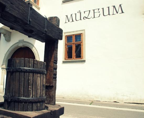 Pezinok, Slovaquie : budova múzea