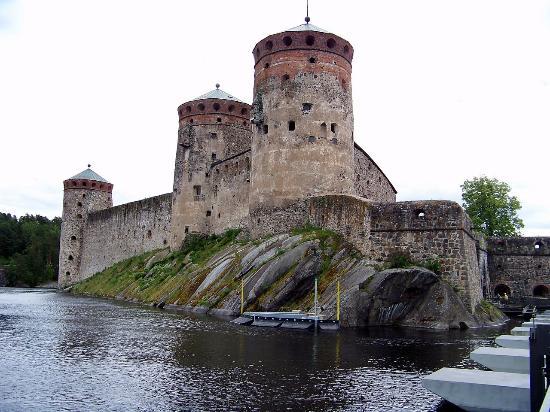 Savonlinna, Finlandia: крепость