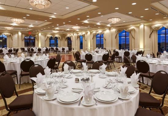 Spartanburg, SC: Azalea Ballroom - Banquet Setup
