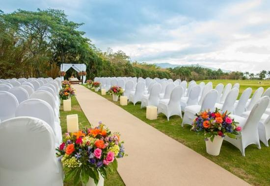 San Antonio De Belen, Kosta Rika: Outdoor Wedding