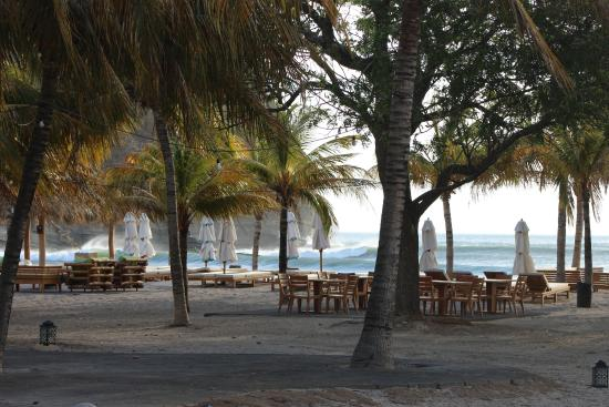 Rivas, Nicarágua: View of the beach front