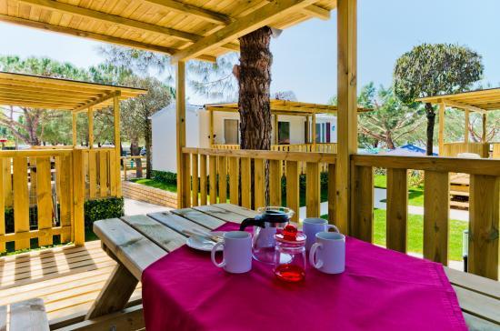 Veranda Casa Mobile Picture Of Le Palme Camping Pacengo Tripadvisor