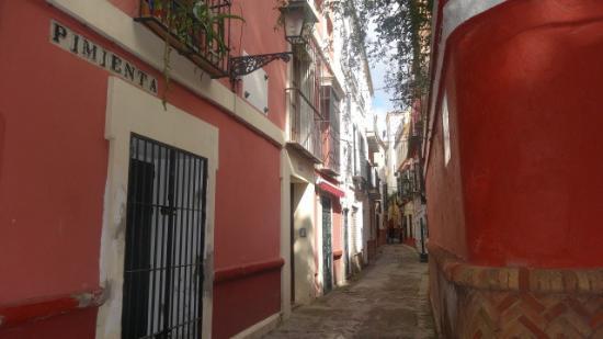 Callej N Del Agua Fotograf A De Barrio De Santa Cruz