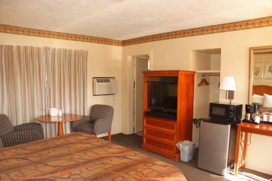 Suwannee Gables Motel and Marina: king room