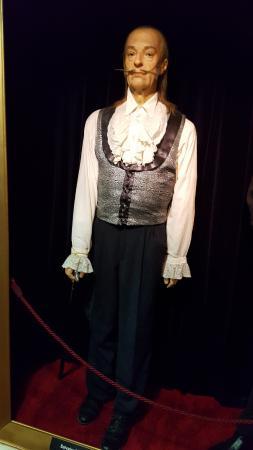 Muzeum Voskovych Figurin: S Dali