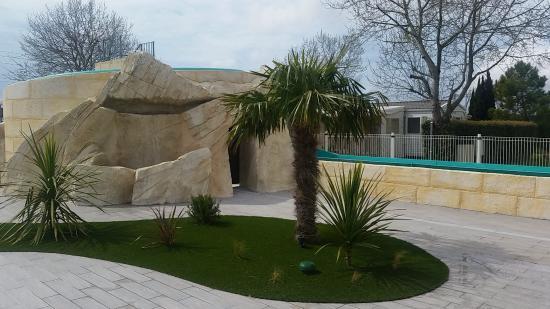 Puilboreau, Francia: Rénovation toboggan