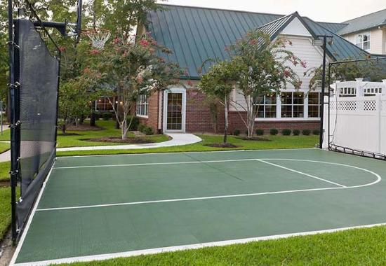 The Woodlands, Teksas: Sport Court