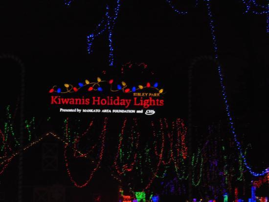 Sibley Park Zoo: Kiwanis Holiday Lights In Sibley Park