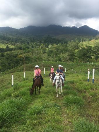 San Isidro de El General, Costa Rica: Horse Back riding