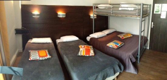 Hotel Ambassadeurs : chambre quintuple
