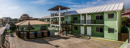 Barra da Lagoa, SC: Fachada Principal