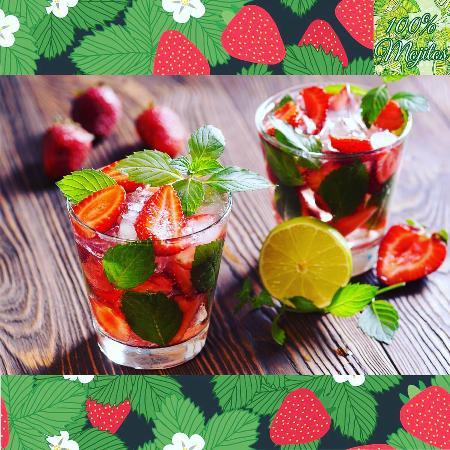 Neuilly-sur-Seine, Francia: Rhum aux fraises