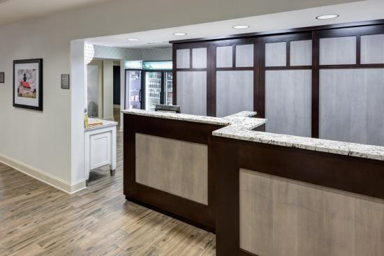 Homewood Suites by Hilton Mahwah: Renovated Registration Desk