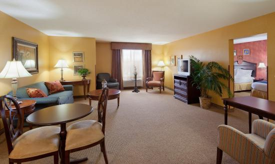 Holiday Inn Express Hotel & Suites: Suite