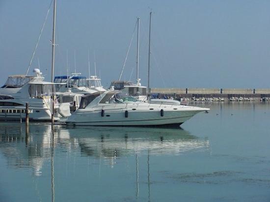 พอร์ตวอชิงตัน, วิสคอนซิน: Boats in the Marina which is with in walking distances