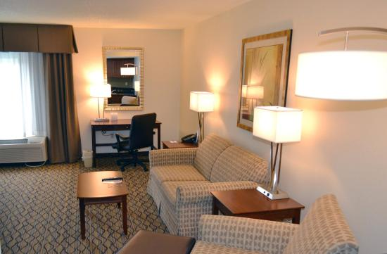 Brandon, FL: A Sleeper Sofa is in every suite