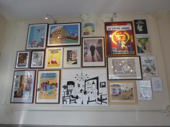 Déco  Tintin !!  Photo de Le Faubourg Saintantoine