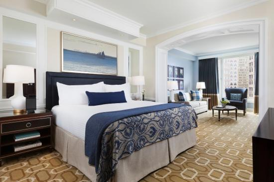 Boston Harbor Hotel: Deluxe City View Guestroom