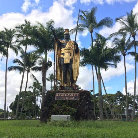 Wailoa River State Recreation Area: King Kamehameha statue