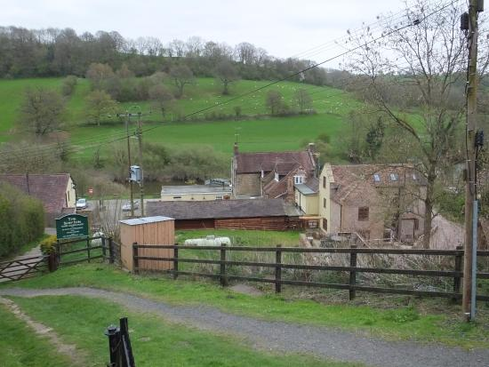 Rear view of The Ship Inn from Highley Station.