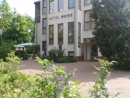 Flair Hotel Weiss: Hotel-Vorfahrt