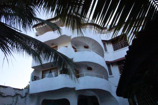 Hotel Mainao: Ansicht vom Innenhof aus
