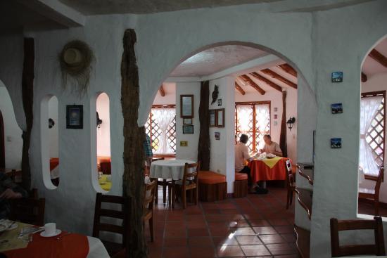 Hotel Mainao: Blick in den Frühstücksraum