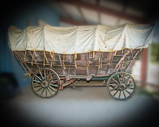 Blanco, Teksas: Conestoga Wagon