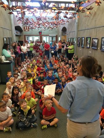 Cape Girardeau Conservation Nature Center: Fredericktown Elementary