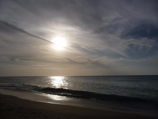 Ilha de Margarita, Venezuela: Playa y sus atardeceres