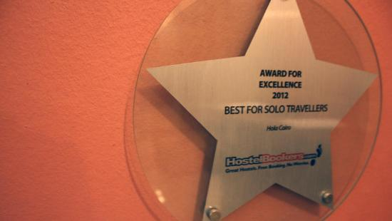 Hola Cairo Hostel: Hostel bookers award
