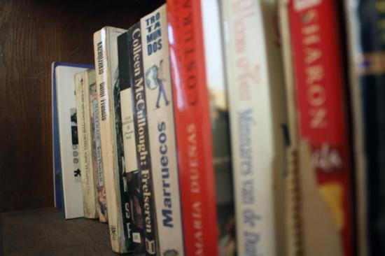 Hola Cairo Hostel: Book Library