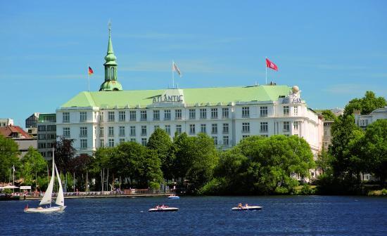 Hotel Atlantic Kempinski Hamburg: Dayview