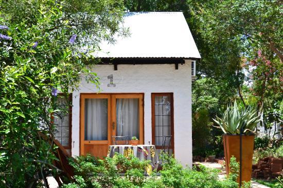 The Bushbaby Inn: Patio