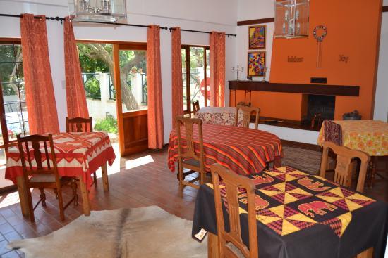 The Bushbaby Inn : Dining room