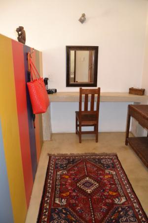 The Bushbaby Inn : Dressing room