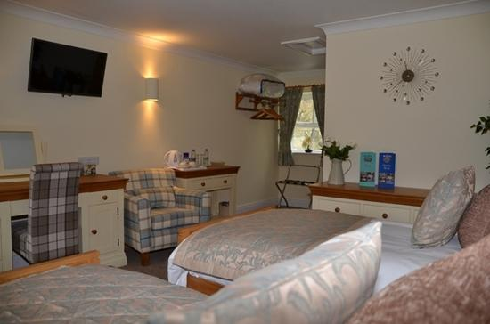 The Boatside Inn: Twin Room