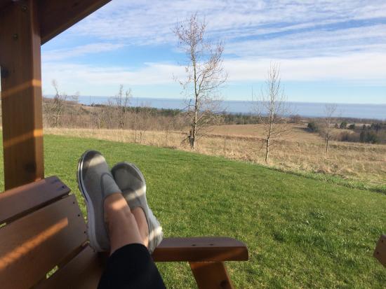 Grafton, Kanada: Beautiful outdoor spaces to relax.