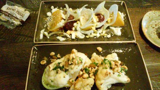 Wayne, Pensilvanya: Beet Salad and Roasted Cauliflower