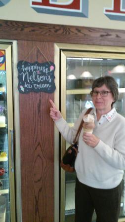 Nelson's Ice Cream Store: Nix Besser