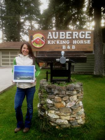 Auberge Kicking Horse B&B: 2015 hospitality award from Tourism Golden