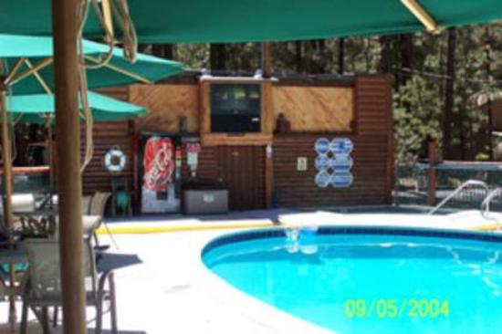 Golden Bear Cottages Resort: Heated pool and spa