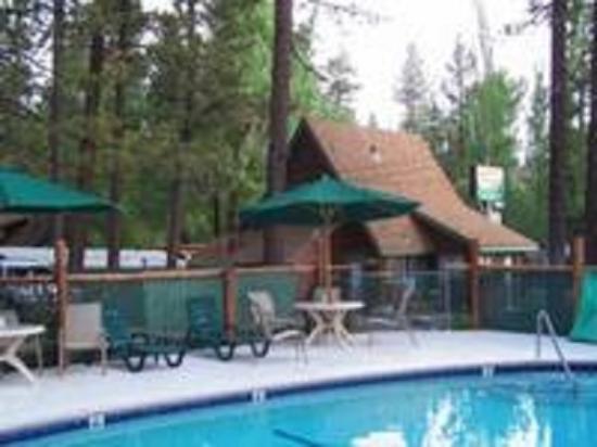 Golden Bear Cottages Resort: large outdoor spa