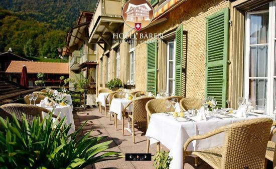 Wilderswil, Suiza: Terrace Bar