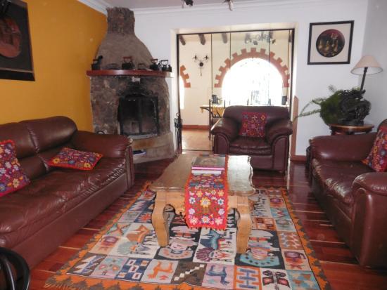 Wilkamayu Hotel: un des salons